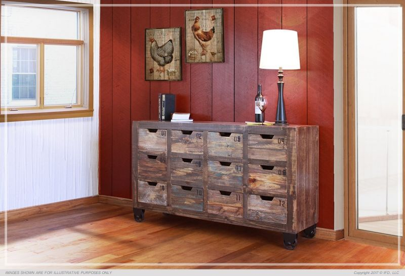 Merveilleux Multi Drawer Console